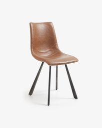 Καρέκλα Trap, οξειδωμένο καφέ