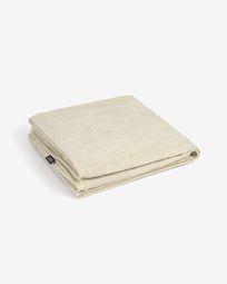 Κάλυμμα για 2θ καναπέ Blok, λευκό λινό