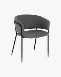 Καρέκλα Runnie, ανοιχτό γκρι