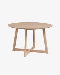 Ανοιγόμενο τραπέζι Maryse 70 (120) x 75 εκ, φινίρισμα οξυάς