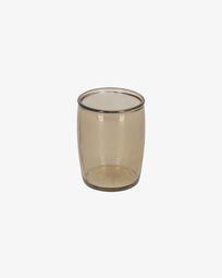 Trella brown bathroom cup