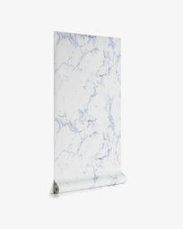 Marbela 10 x 0,53 m blue wallpaper FSC MIX Credit