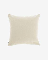 Κάλυμμα μαξιλαριού Nedra 45 x 45 εκ, μπεζ