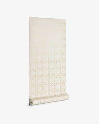 Viveka 10 x 0,53 m beige and gold wallpaper FSC MIX Credit