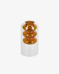 Charlize orange vase