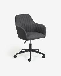 Madina dark grey office chair