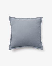 Lisette cushion cover 45 x 45 cm in blue