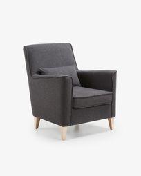 Πολυθρόνα Glam, γραφίτης