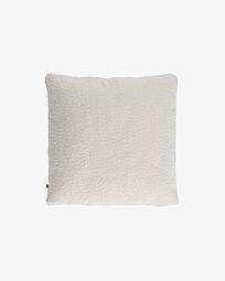 Κάλυμμα μαξιλαριού Vicka 60 x 60 εκ, λευκό