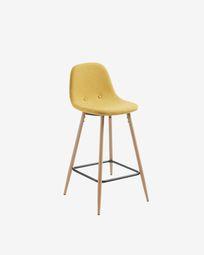 Mustard Nolite stool height 65 cm