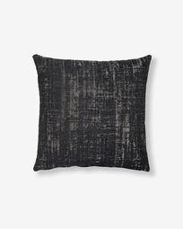 Κάλυμμα μαξιλαριού Nazca 45 x 45 εκ, μαύρο