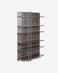 Kesia bookshelf 106 x 183 cm