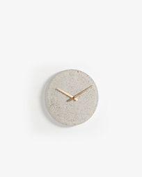 Επιτοίχιο ρολόι Alexia Ø 27 εκ, μπεζ