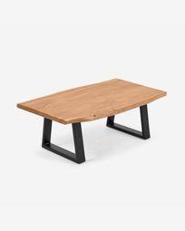 Τραπέζι σαλονιού Alia, μασίφ ξύλο ακακίας σε φυσικό φινίρισμα, 115 x 65 εκ