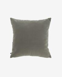 Κάλυμμα μαξιλαριού Nedra 45 x 45 εκ, γκρι