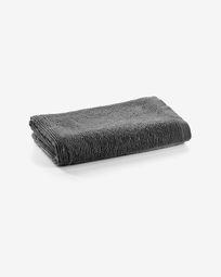 Μικρή πετσέτα μπάνιου Miekki, σκούρο γκρι