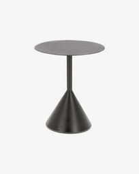 Βοηθητικό τραπέζι Yinan Ø 48 εκ, μαύρο