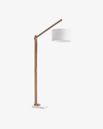 Riaz floor lamp, white
