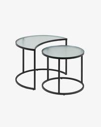 Σετ 2 βοηθητικά τραπέζια Bast