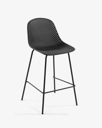 Grey Quinby stool height 75 cm