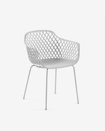 White Quinn chair