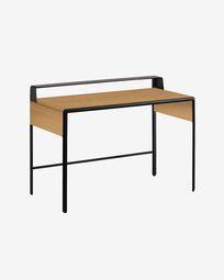 Oak wood Nadyria Desk 120 x 55 cm