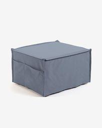 Blue Lizzie pouf 70 x 60 (180) cm