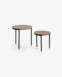 Anabel side tables Ø 50 / Ø 38 cm