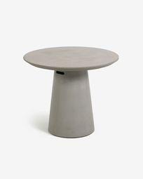 Τραπέζι Itai, Ø 90 εκ, τσιμέντο