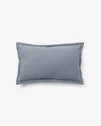 Lisette cushion cover 30 x 50 cm in blue