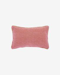 Κάλυμμα μαξιλαριού Dalila, PET τερακότα,30 x 50 εκ