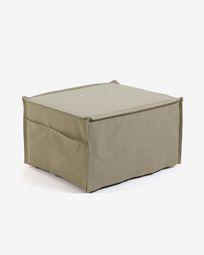 Beige Lizzie pouf 70 x 60 (180) cm