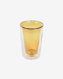 Ποτήρι Aryas, διάφανο και κίτρινο