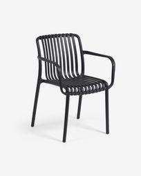 Καρέκλα κήπου Isabellini, μαύρο