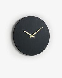 Επιτοίχιο ρολόι Wenig Ø 40 εκ, σχιστόλιθος