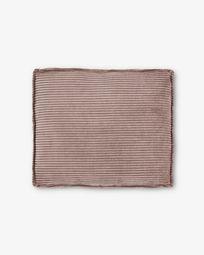 Μαξιλάρι Blok 60 x 70 εκ, ροζ βελούδο