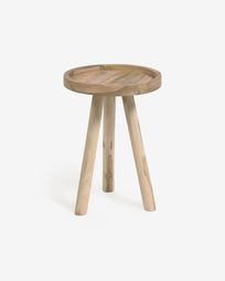 Glenda solid teak side table Ø 35 cm