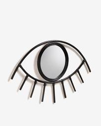 Καθρέπτης Maela 72 x 45 εκ, μαύρο