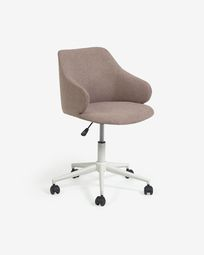 Καρέκλα γραφείου Einara, ροζ
