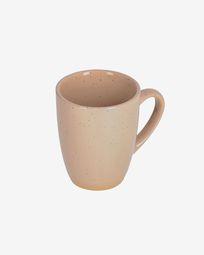 Tilia ceramic cup in beige