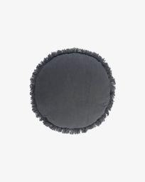 Clarice blue cushion cover Ø 45 cm
