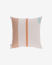 Κάλυμμα μαξιλαριού Calantina, πολύχρωμο με ρίγες 45 x 45 εκ