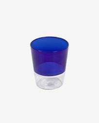 Ποτήρι Diara, μπλε και διάφανο