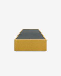 Storage bed base Matters 90 x 190 cm mustard