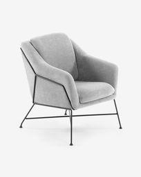 Grey Brida armchair
