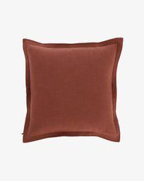 Κάλυμμα μαξιλαριού Maelina 60 x 60 εκ,  μπορντό
