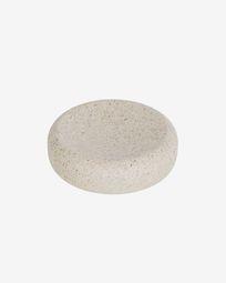 Najilla beige soap dish