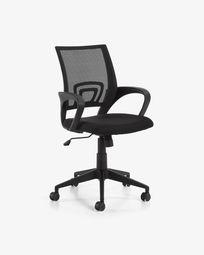 Καρέκλα γραφείου Rail, μαύρο