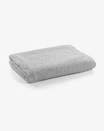 Μεγάλη πετσέτα μπάνιου Miekki, ανοιχτό γκρι