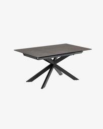 Ανοιγόμενο τραπέζι Atminda 160 (210) x 90 εκ, πορσελάνη